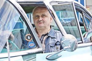 Gunnar Jonsson hoppas på god uppslutning på Flygfältet på torsdag. Själv kommer han att vara där med sin Buick.