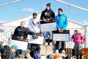 Norrhälsningarna dominerade årets SM i parallellslalom. Bergsjö-Hassela tog hand som samtliga medaljer och Björn Hedman från Hudik Alpin kom fyra.