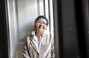 Författaren Jamaica Kincaid är en av de författare som kommer att ingå i Bokmässans tema jämställdhet.  Foto: Tomas Oneborg/TT