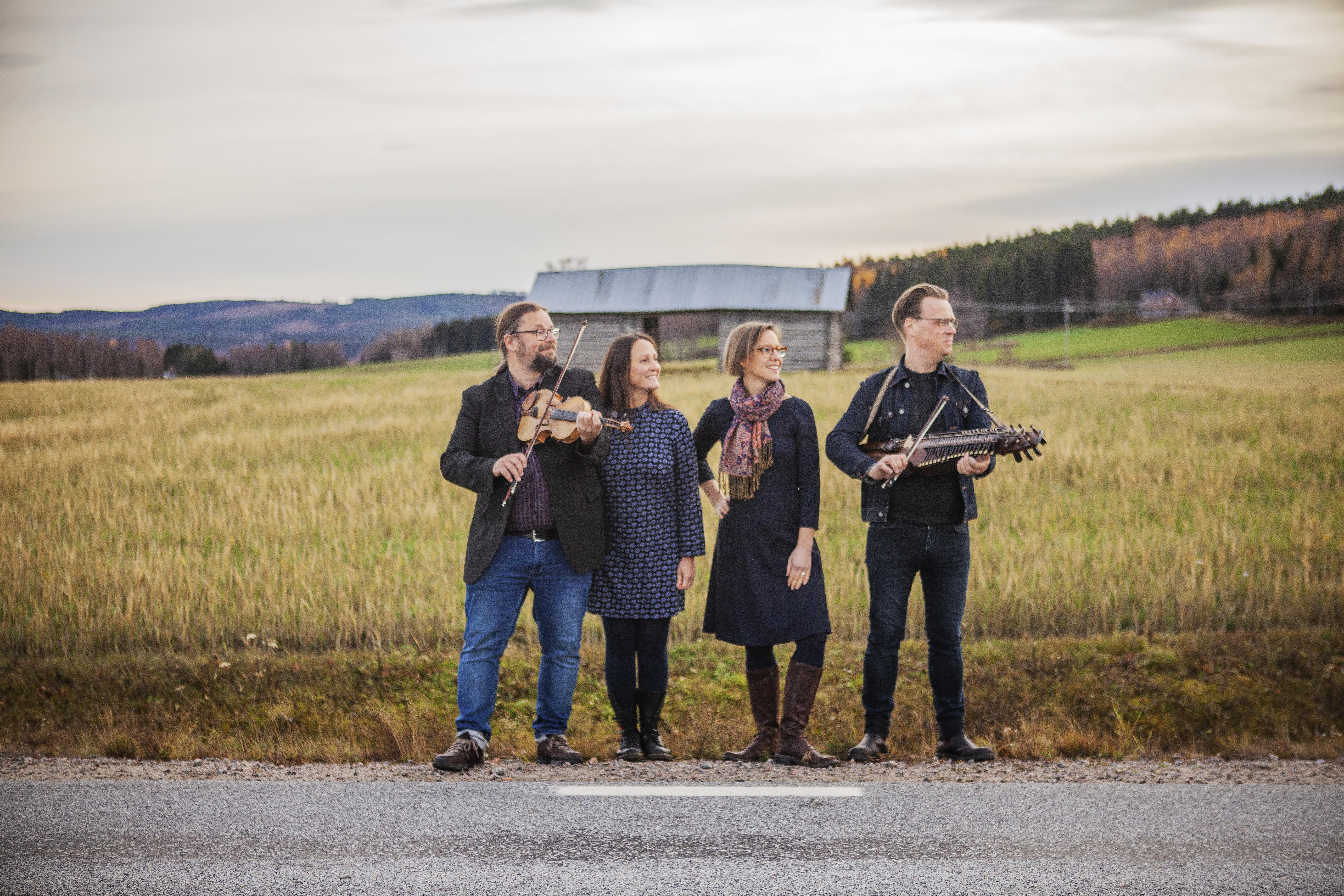 Kända hälsingemusiker startade nytt folkband – och ger ut skiva: