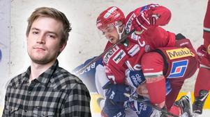 Hockeypuls Marcus Simm listar fem snackisar från mötet mellan Leksand och Modo i Tegera Arena. Foto: Erik Mårtensson/Bildbyrån, DT/Arkiv.