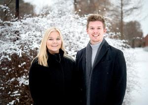 Sanna Svanebo och Adam Johansson utgör MittMedias OS-duo.