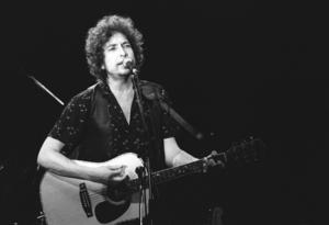 Bob Dylan under en konsert 1981. Foto: Korr./NTB / SCANPIX