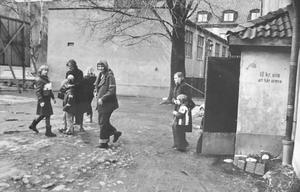 Kvarteret Lorens 1978. Foto: Gunhild Malmberg/VLT:s arkiv