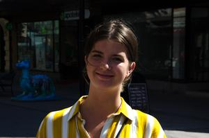 Hanna Kramer, 23 år, student, Sundsvall: