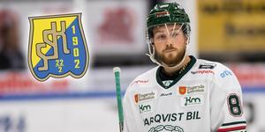 Anton Blomberg gjorde fem poäng på tolv matcher för Tingsryd. Nu är han klar för SSK. Foto: Bildbyrån.
