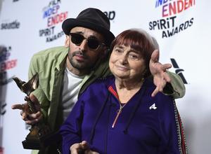 JR och Agnes Varda gjorde årets bästa dokumentärfilm,
