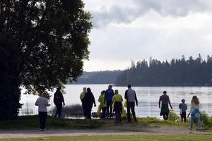 Älvstädningen sker lite tidigare i år i Leksand. Arkivbild. Foto: Stefan Sjödin