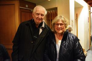 Sören och Monica Kvist var på plats för att se föreställningen.
