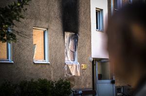 Lägenheten på första våningen på Ponsbach väg 12 brann i slutet av maj.