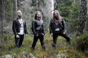 Black metal-bandet Skogen, ett av många i genren som hämtar teman och kraft från naturen.Foto: Pressbild