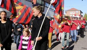 Engagerade ÖFK-supportar. Foto: Arkiv