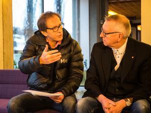 Björn Eklund, tidigare MS-sjuk samtalar med Jan-Olov Häggström (S)