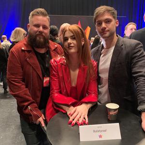 Erik Dahlqvist, Johanna Jansson (Dotter) och Dino Medanhodzic  ska tävla i Mello nästa år.