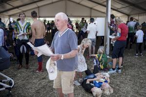 Carleric Fransson med sina 90 år är den äldsta deltagaren på O-ringen.