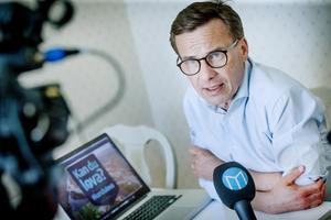 Ulf Kristersson (M) svarar på tittarfrågor från Mittmedia.