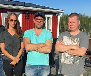Malin Nordin, Thomas Höglund och Ville Nevalainen fick rätt mot Servanet.