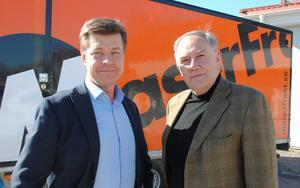 Arne Helmersson tänker sluta som vd för Maserfrakt till nyår. Bolagets styrelseordförande Krister Söderstam har börjat arbetet med att rekrytera en ny vd. Foto: Pressbild Maserfrakt