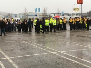 Personal och kunder fick utrymmas från Ikea.