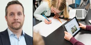 Marcus Svinhufvud (M) är ordförande för barn- och utbildningsnämnden i Nynäshamn, som ska spara cirka 31 miljoner kronor i år. Det är ännu inte klart hur besparingarna kommer att påverka verksamheten i kommunens skolor.