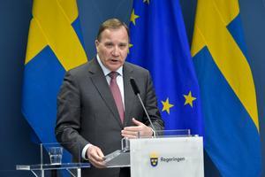 Stefan Löfven, statsminister. Foto: TT.