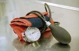 Foto: Erik G Svensson  Scanpix arkivbild blodtrycksmätare.