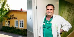 Hassan Soleymanpur, verksamhetschef på Caspien Alnö vårdcentral.
