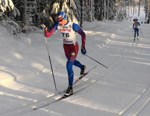 Edvin Anger är i Lycksele för att försvara sitt USM–guld i sprint. Foto: Ellinor Anger