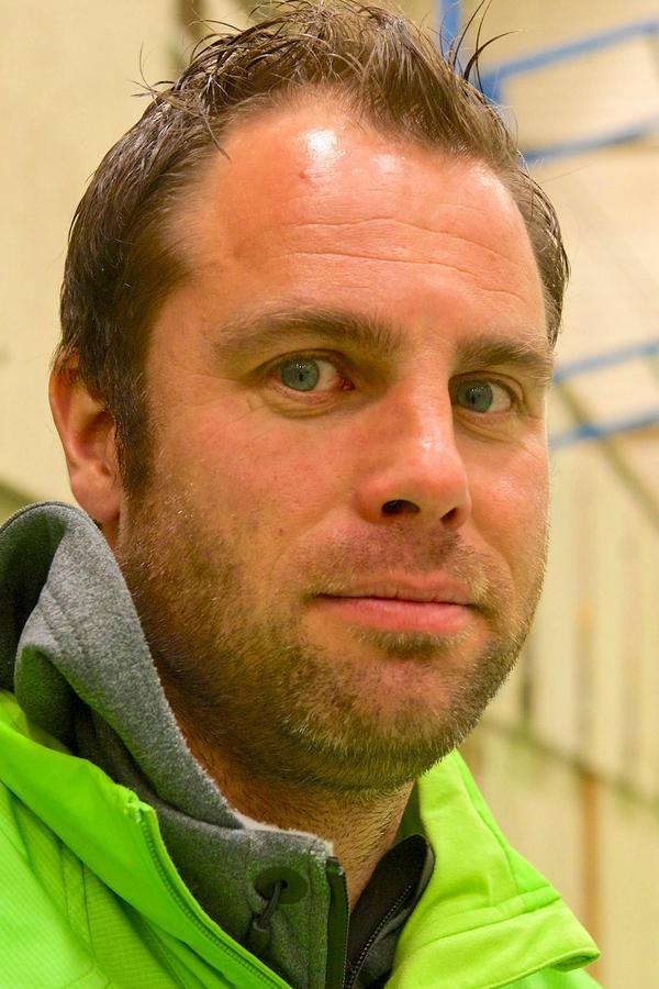 Erik Albinder, projektledare, hoppas att de tekniska bitarna på skjutvallen ska finnas på plats i slutet av januari.