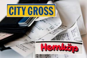 City Gross och Hemköp satsar på digitala kvitton.Foto: Christine Olsson / SCANPIX