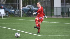 Julia Langörgen ser en potential i laget.