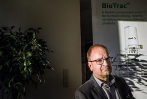 Mats Arnberg, enhetschef på Valmets avdelning för biomassa.