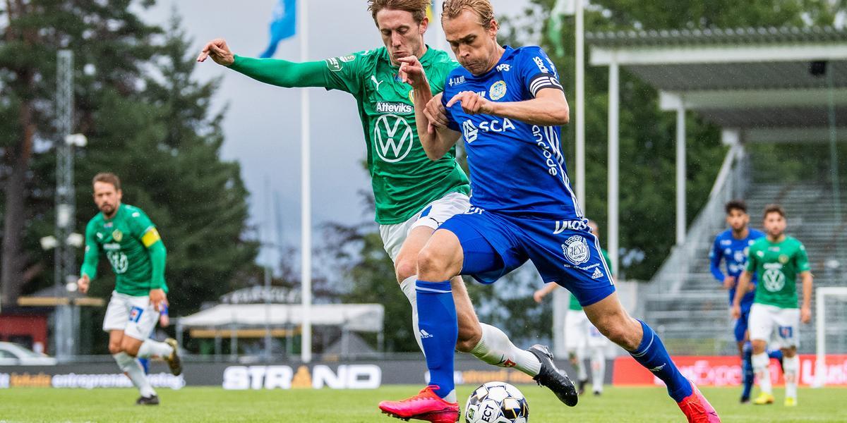 Skulle ha spelat på tisdag – nu flyttas GIF Sundsvalls match