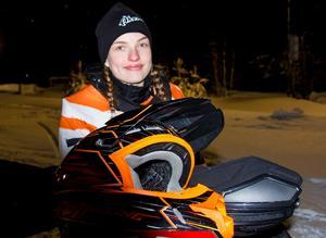 Thea Arnesson, 14, blev sexa i den första SM-deltävlingen. Hon hoppas på ett liknande resultat på lördag.