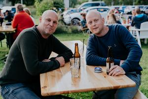 Johan Eriksson och Markus Livingstone Elmén.
