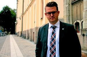 Anders Åhrlin (M) oppositionsråd i Örebro kommun.