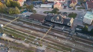 Fagersta centralstation.