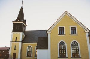 Sammilsdalkyrkan i Leksand. Foto: Therese Palmqvist