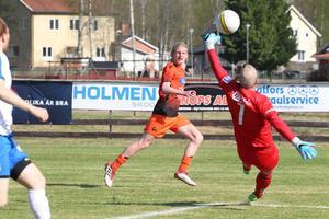 Alexander McBurnie gjorde matchens enda mål mot IFK Umeå.