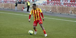 Beneyam Demte blev en av matchhjältarna mot Trelleborg.