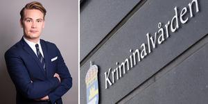 Kim Erikssons ombud Harri Keränen anser att Kriminalvården är fel ute när det gäller Kim Erikssons strafflängd. Bild:  Advokatfirman Defens/TT arkiv