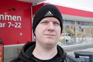 – Nej, inte speciellt. Men lite soligare är det så det är skönt.Andreas Starborg, 32, Butiksanställd, Smedjebacken