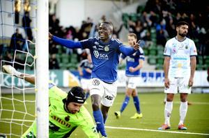 Pa Dibba gjorde åtta mål i Allsvenskan förra säsongen.