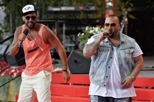 Sami Rekik och Ali Jammali utgör duon Medina.