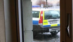 Polis kallades till platsen.