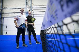 Kenneth Höglund gör gemensam sak med sin svärson Johan Eklund och driver Dala Padel som har smygpremiär under fredagen.