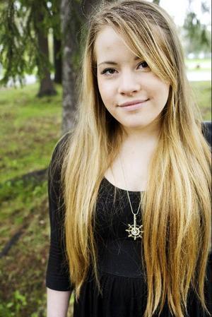 Märta Gustafsson vann tredje pris i novellklassen med