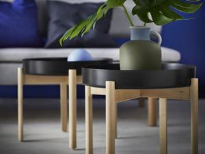 Ikea och Hay har valt att ha det trendiga brickbordet i sin nya kollektion Ypperlig.