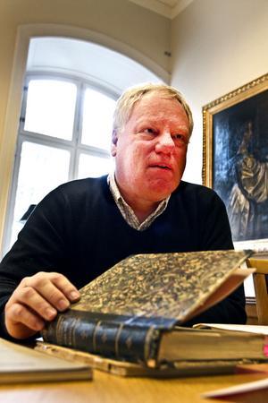 På Agnes tid var Gävles självkänsla större, säger historikern Arne Øvrelid.