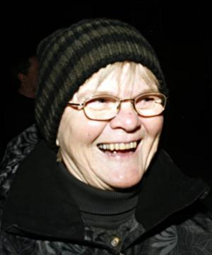 Eva-Lisa Rask, 61 år, lärare, Vinnersjö–Ja men självklart. Hon har alltid varit en artist.